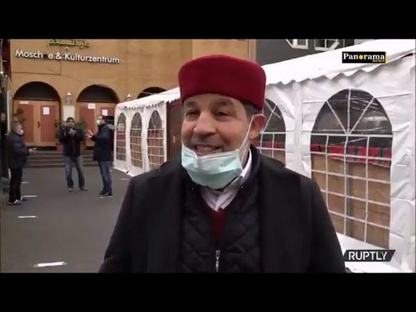 Ein paar Impressionen der muslimischen Corona-Party in Berlin.