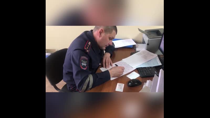 Иркутские автоинспекторы привлекли к ответственности водителя автобуса нарушившего ПДД