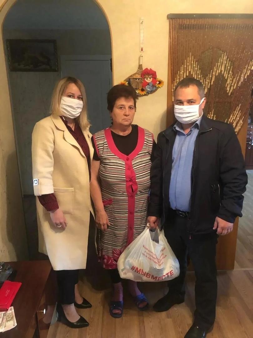 В Петровске продолжается Всероссийская акция взаимопомощи «Мы вместе!»