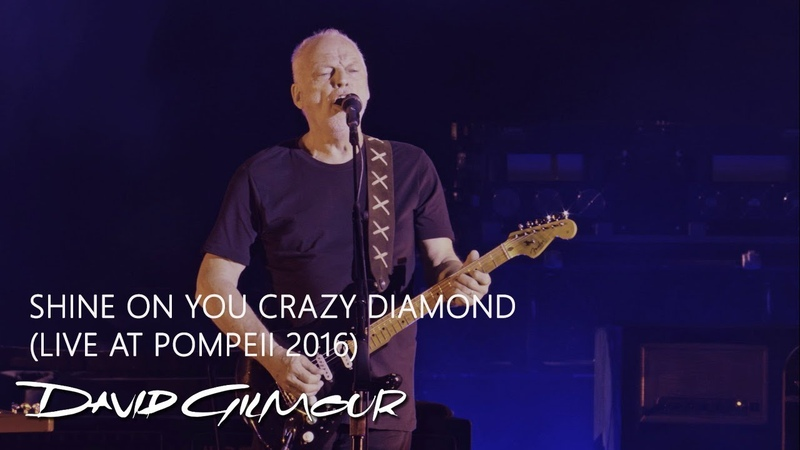 David Gilmour - Shine On You Crazy Diamond (Live At Pompeii)