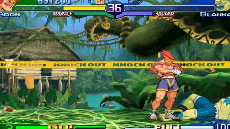 Street Fighter Alpha 3 Zero 3 Expert difficulty Adon 2 0 Playthrough