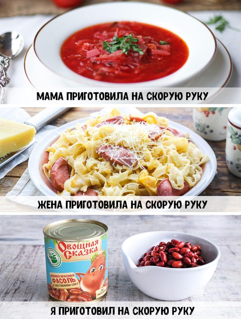 Каждая девушка должна уметь готовить. Согласны?
