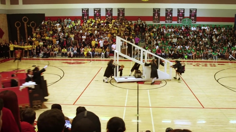 """_""""Harry Potter_"""" Homecoming Assembly"""