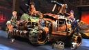 Кастомная машина для выживания в апокалипсис построена на базе лего набора 42090
