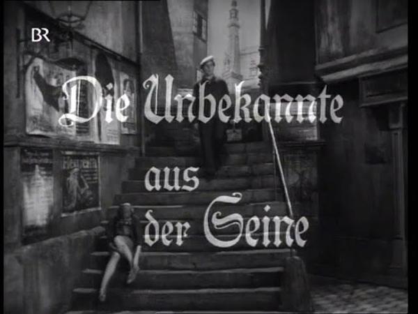 Die Unbekannte aus der Seine - von Ödön von Horvath (1968, Regie Michael Kehlmann)