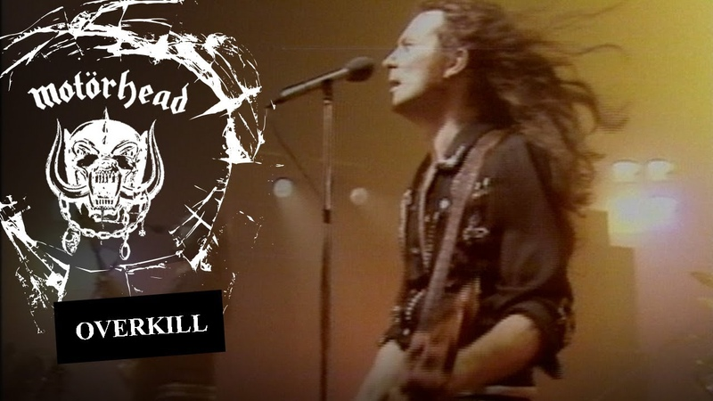 Motörhead – Overkill (Official Video)