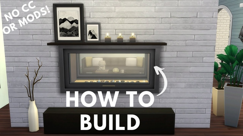 SIMS 4 HOW TO BUILD DECOR AND FURNITURE IDEAS (WITHOUT CC OR MODS) 🔨 SIMS 4 BUILDING TUTORIAL