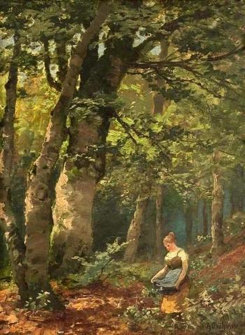О европейском художнике XIX века Генрихе Бёмере, сохранилось очень мало информации