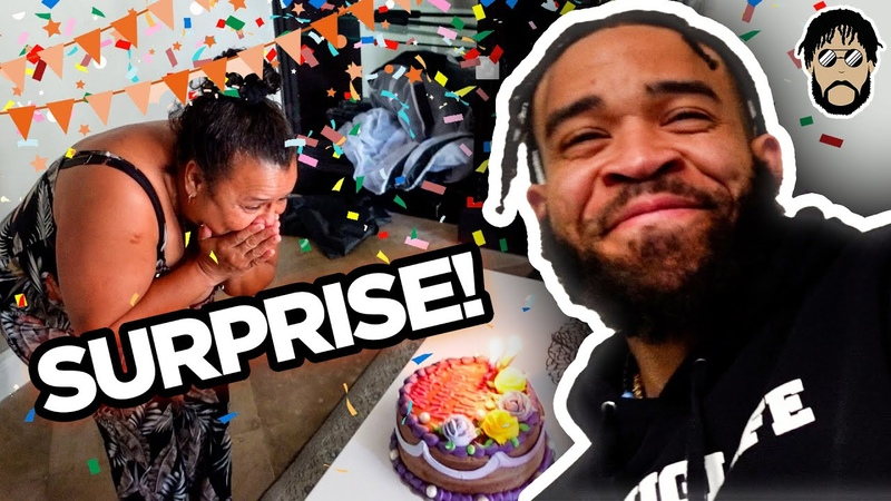 SHE HAD NO IDEA! Surprised My Housekeeper for Her Birthday! | JaVale McGee Vlogs