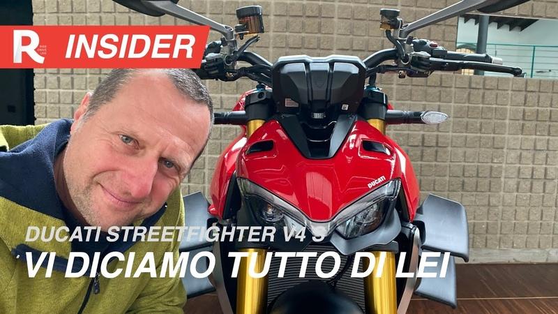 Ducati Streetfighter V4 S prova tutto quello che volete sapere sulla maxi naked più potente