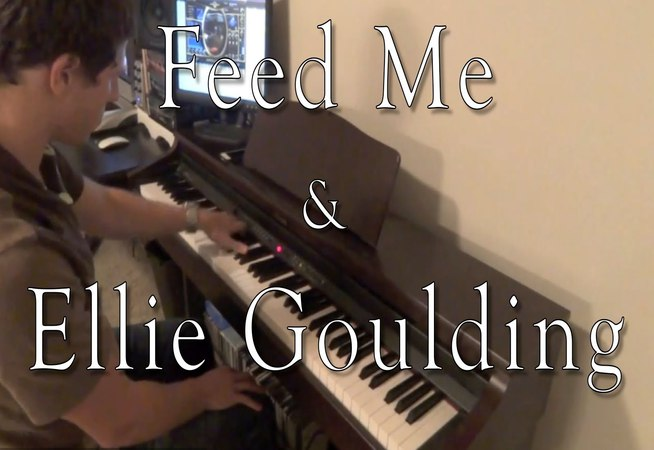 Feed Me and Ellie Goulding - Relocating the Lights (Evan Duffy Piano Cover)