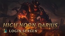 FanMadeHigh Noon Darius - Login Screen