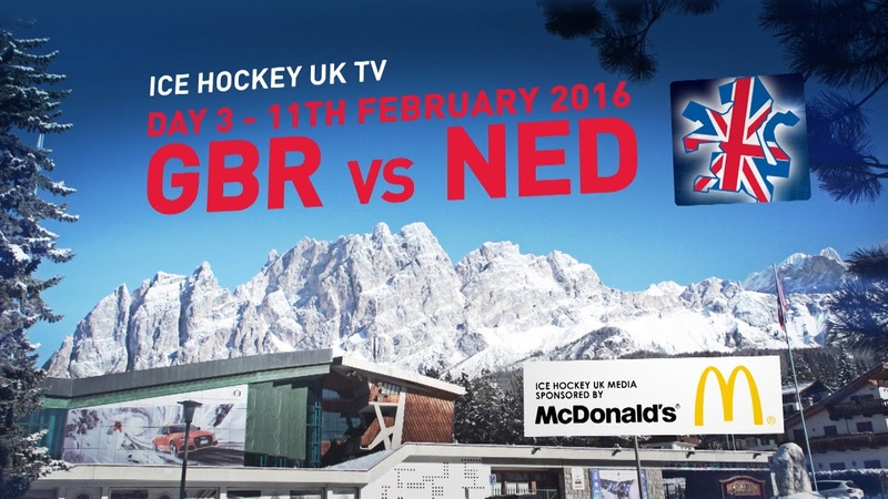 Team GB in Cortina Day 03 Great Britain v Netherlands