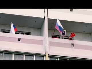 Акция Поём двором в микрорайоне Рождественский в Иванове
