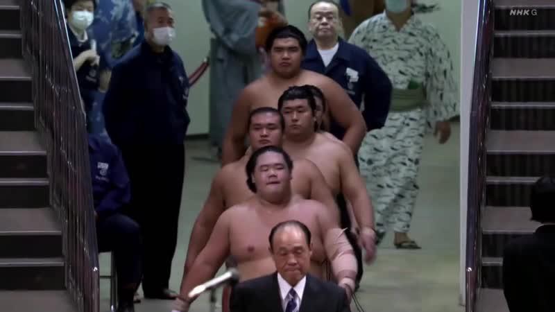 Playoff - Division Yusho Award ceremony - July 2020 (NHK)
