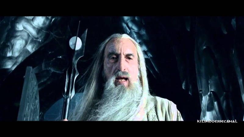 Saruman envia os Uruk Hai para atacar o Abismo de Helm O Senhor dos Anéis Duas Torres