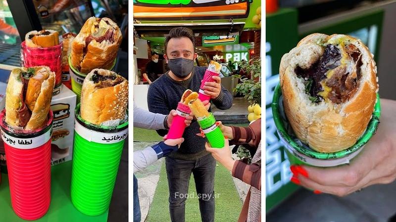 فست فود پک مک Fast food sandwiches in Tehran Iran