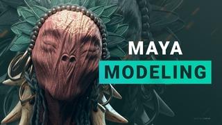 Modeling in Maya Лекция 3