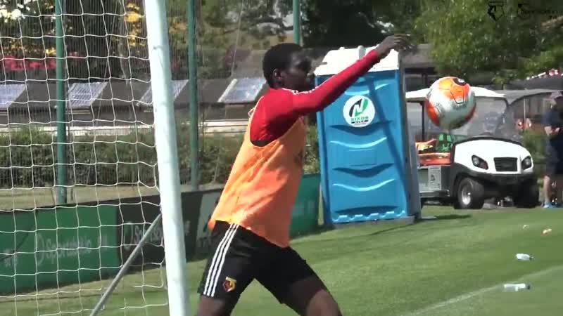In goal for Watford number 23 Ismaïla Sarr