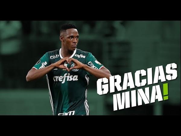 Gracias Mina Despedida de Yerry Mina do Palmeiras