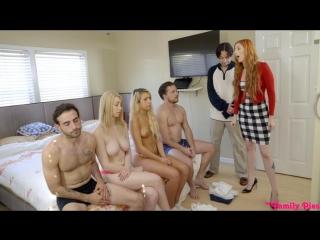 Carmen Caliente, Gia Love [PornMir, ПОРНО ВК, new Porn vk, HD 1080, All sex, Blowjob, Foursome]