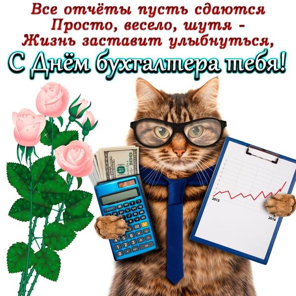 Поздравления главному бухгалтеру фирмы