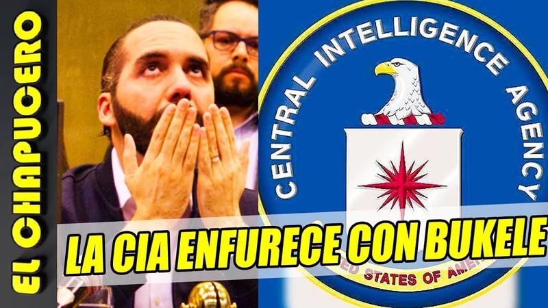 Bukele comete un terrible error y ¡se enfrenta a la CIA! Cree que se manda solo