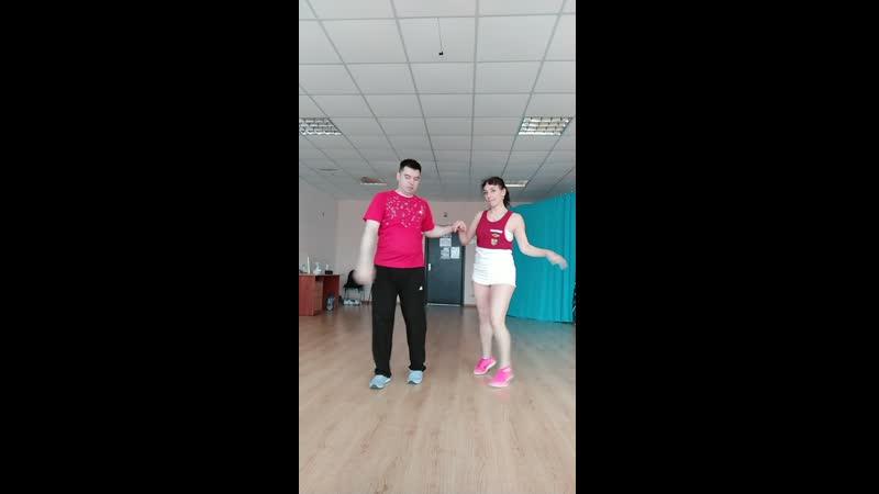 Albacubanashow bachataurban Alba y Oleg уроки для новичков до 1мес