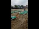 Средиземное море на пляже Клеопатры 2018. Раннее утро