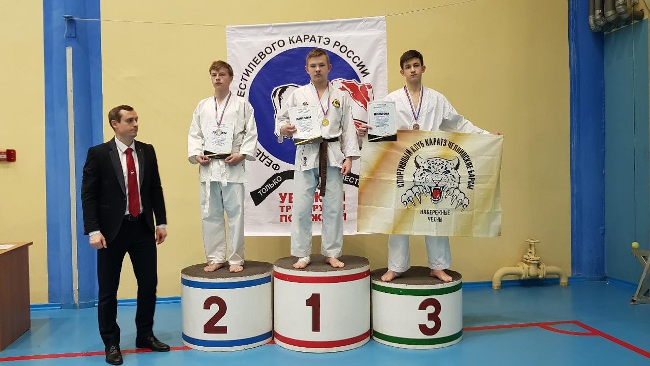 1 место - Минигараев Дамир