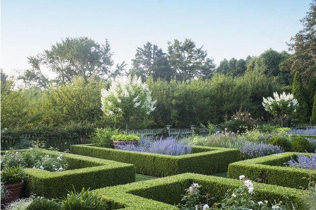 Сад писательницы Ины Гартен в Ист-Хэмптоне