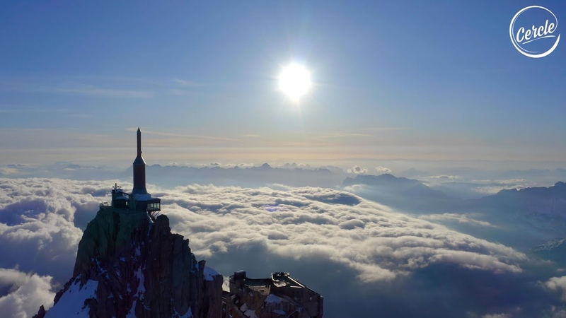 The Blaze live at Aiguille du Midi in Chamonix France for Cercle