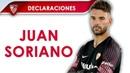 Juan SorianoTras nueve años en el club, llegó la oportunidad de debutar