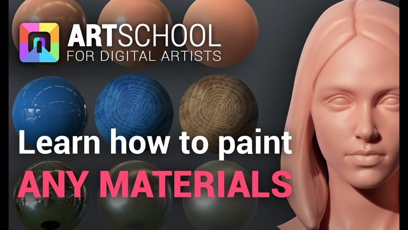 Learn To Paint any Skin Metals Plastics and more ART School Tutorial