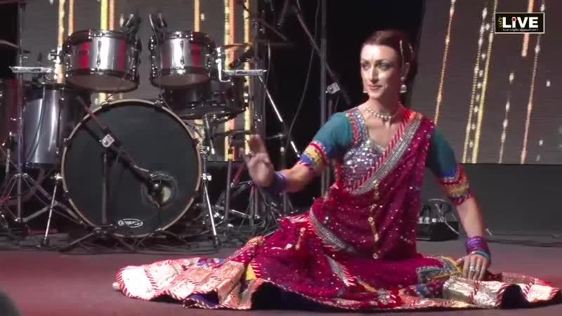 Colleena Shakti performing dance Eventsthan 2018 Venue JW Marriott Jaipur