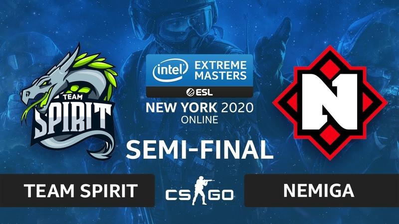 CSGO - Team Spirit vs. Nemiga [Inferno] Map 1 - IEM New York 2020 - Semi-final - CIS