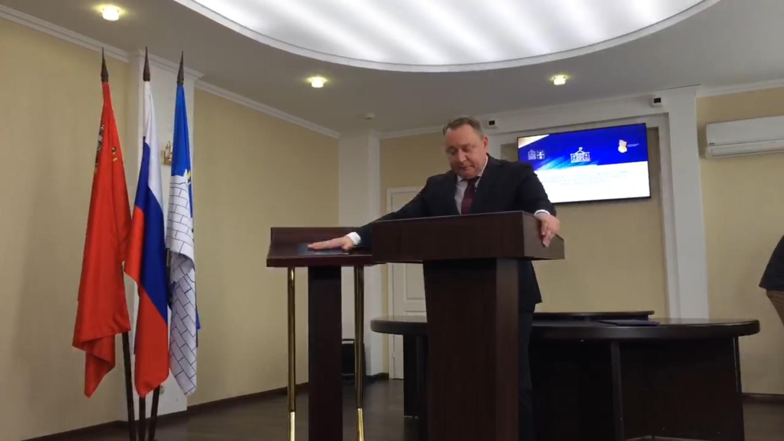 СЕЙЧАС: Токарев Михаил Юрьевич вступил в должность