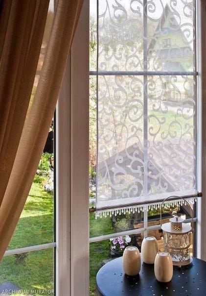 Занавески Предлагаю вам вариант для легкого и элегантного оформления металлопластиковых окон или дверей.Декоративная панель - занавеска преобразит любые пластиковые окна. Обратите внимание, на