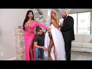 Bridgette B, Moriah Mills - Moriahs Wedding Shower (Threesome, Big Ass, Big Tits, Blonde, Blowjob, Brunette, Ebony, Tatoo)