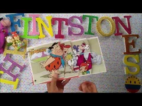 PHOTO ALBUM INSPIRED IN THE FLINSTONES ALBUM DE FOTOS INSPIRADO EN LOS PICAPIEDRAS