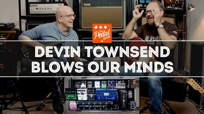 Devin Townsend Blows Our Tiny Minds That Pedal Show