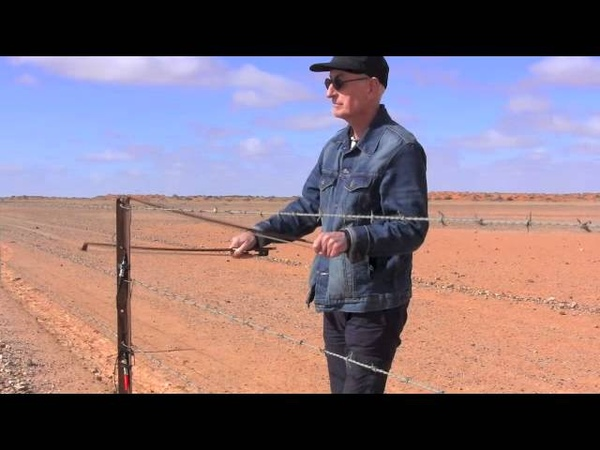 Anna Creek Fence Music played by Jon Rose 25/7/2014