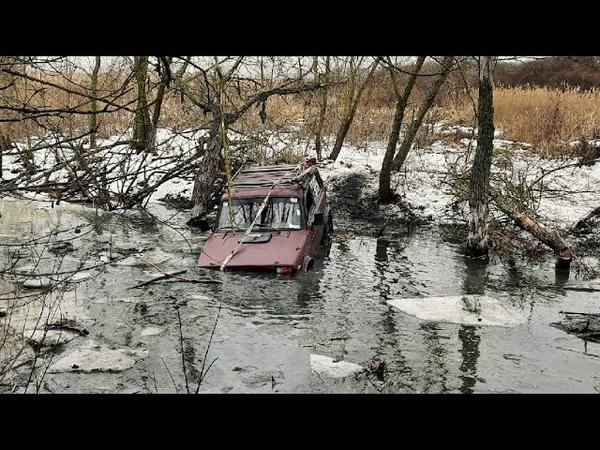 Боевое крещение в ледяных каналах. Новые участники   Офф-роуд Валуйки