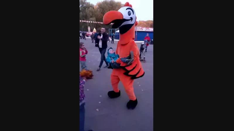 Большая птичка - это КАЙФ!)