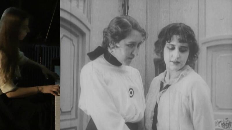 Сеанс с тапёром Жизнь за жизнь 1916 г с Верой Холодной