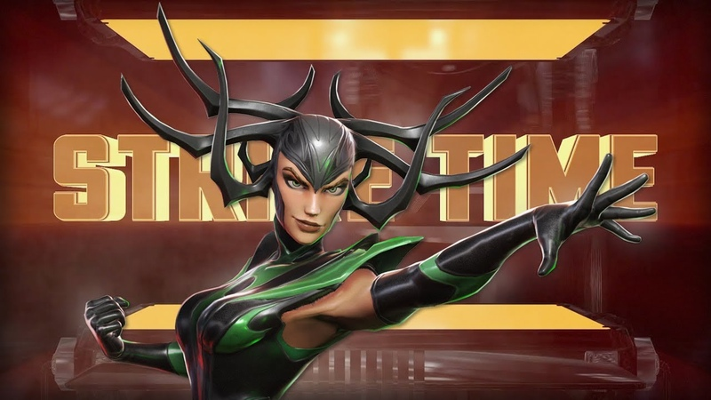 Strike Time 8 Sif Hela will be farmable Red Stars update Real time PvP Marvel Strike Force