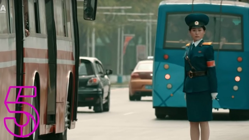 Pyongyang's Mesmerising Traffic Cops Michael Palin In North Korea Channel 5