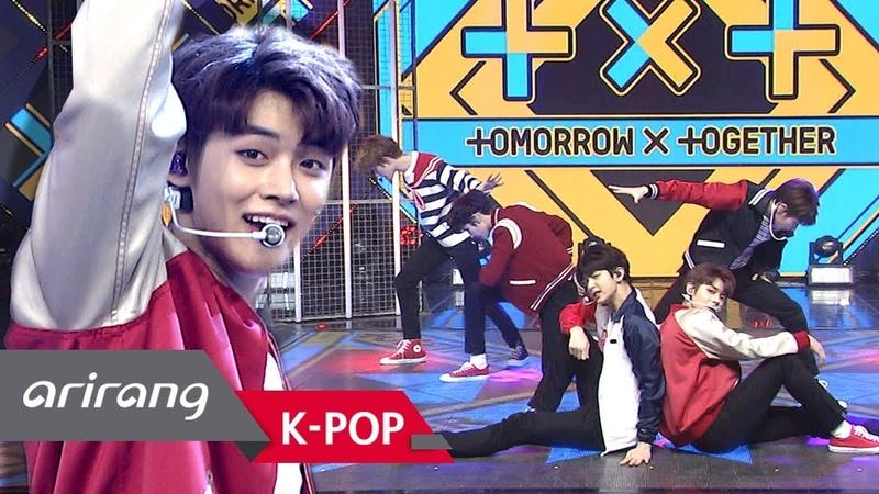[Simply K-Pop] Simplys Spotlight TOMORROW X TOGETHER(투모로우바이투게더) _ CROWN(어느날 머리에서 뿔이 자랐다) _ 032219