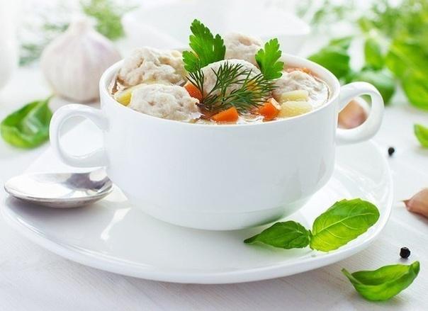 Мой любимый Суп с фрикадельками