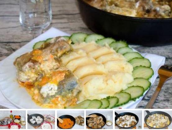 Минтай с морковью и луком на сковороде Если вам хочется приготовить по-быстрому минтай, да и еще чтобы было вкусно этот рецепт для вас! По этому рецепту минтай обжаривается отдельно, затем